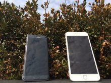 samsung galaxy s7 edge and iphone 6s Plus