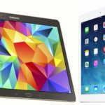 IPad and Samsung tablet