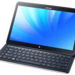 New Samsung tablet with keyboard